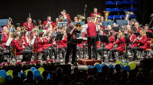 Sikeres koncertet adott szilveszterkor Sopron Város Fúvószenekara