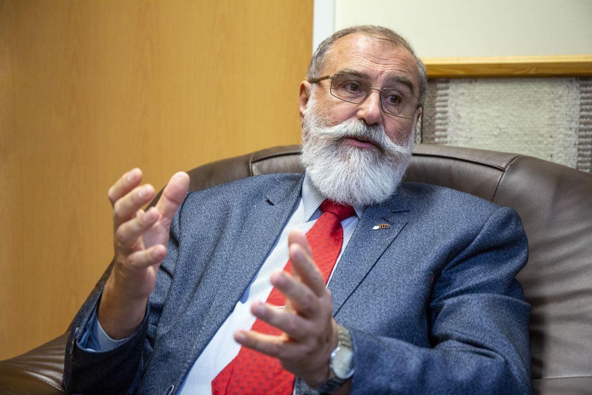 Prof. dr. Faragó Sándor  Fotó: Griechisch Tamás