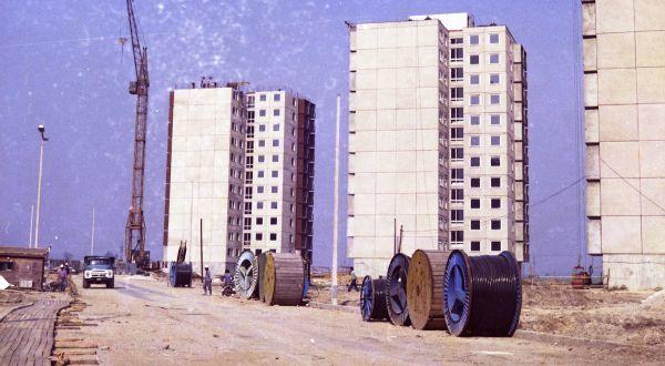 A jereváni építkezés 1973-ban kezdődött és  a 80-as évek közepén zárult le  Fotó: Soproni Múzeum-archív